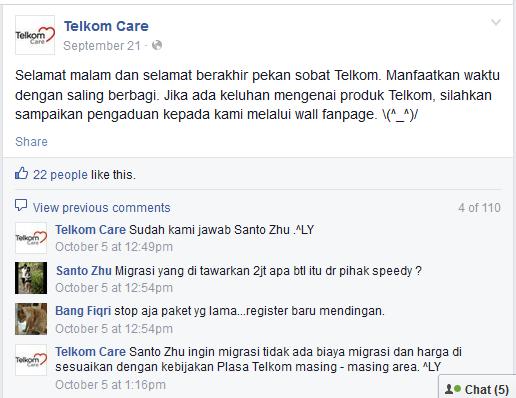facebook-telkom-care